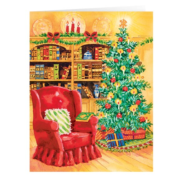 Book of Friendship Christmas Card Set of 20 - View 2