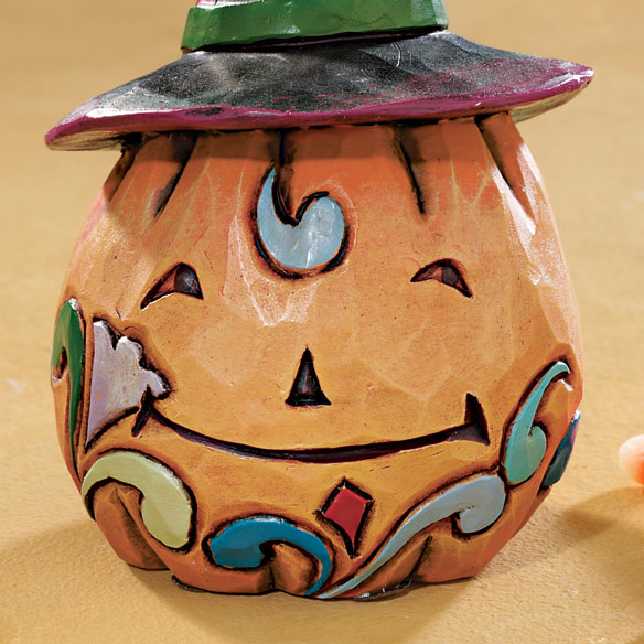 Jim Shore® Heartwood Creek Mini Pumpkin - View 2