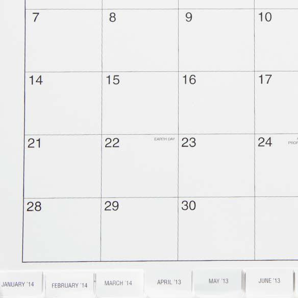 5 Year Calendar Diary 2012-2016 - View 3