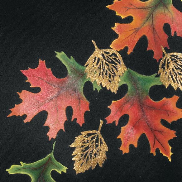 Golden Fall Leaves Sweatshirt - View 2