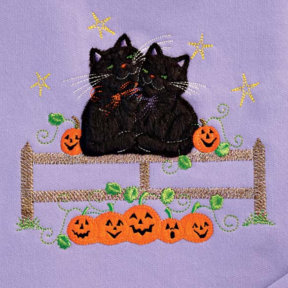 Cats On a Fence Sweatshirt