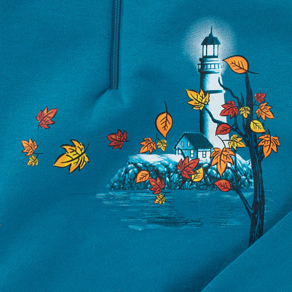 Breezy Leaf Lighthouse Sweatshirt