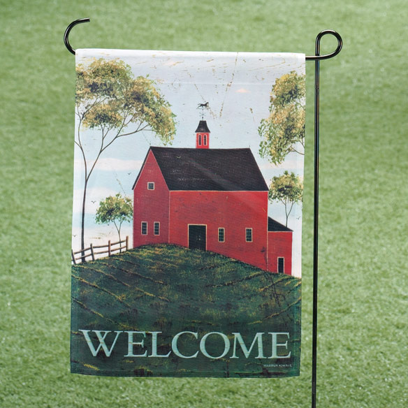 Brandon Barn Garden Flag & Mailbox Cover