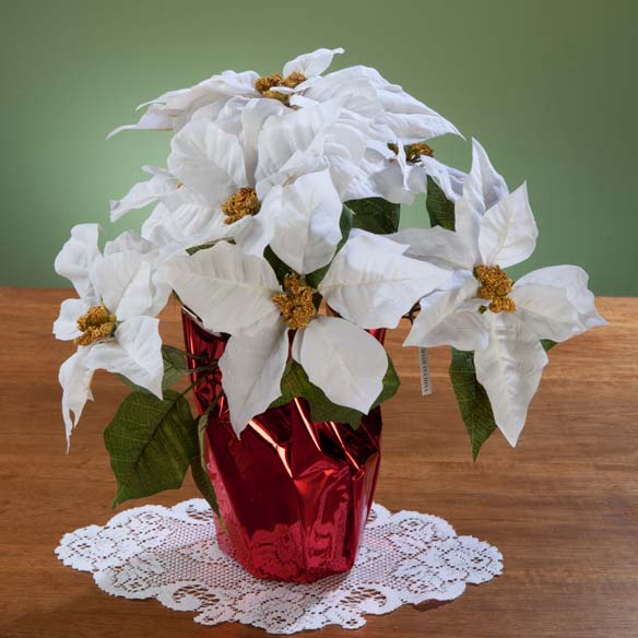 "Christmas Poinsettia 15"" - View 3"