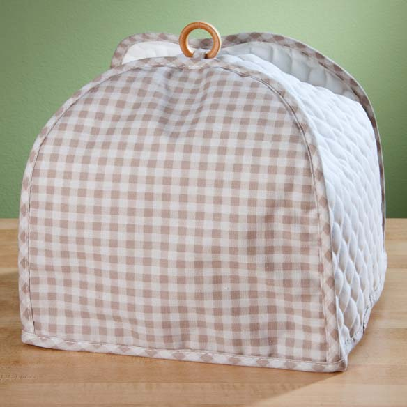 Gingham Appliance Cover 4 Slice Toaster - View 2