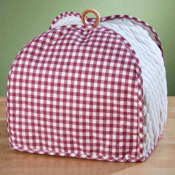 Gingham Appliance Cover 4 Slice Toaster - View 3