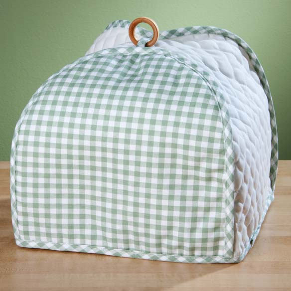 Gingham Appliance Cover 4 Slice Toaster - View 4