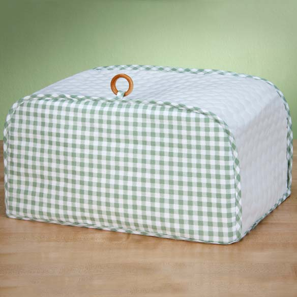Gingham Appliance Cover Toaster Oven - View 3