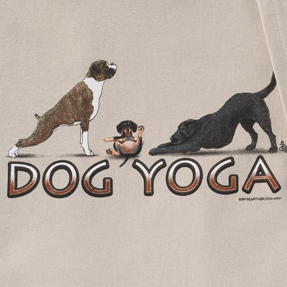 Dog Yoga T-Shirt