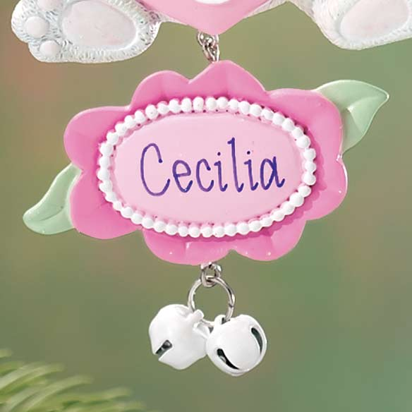 Personalized New Granddaughter Ornament - View 3