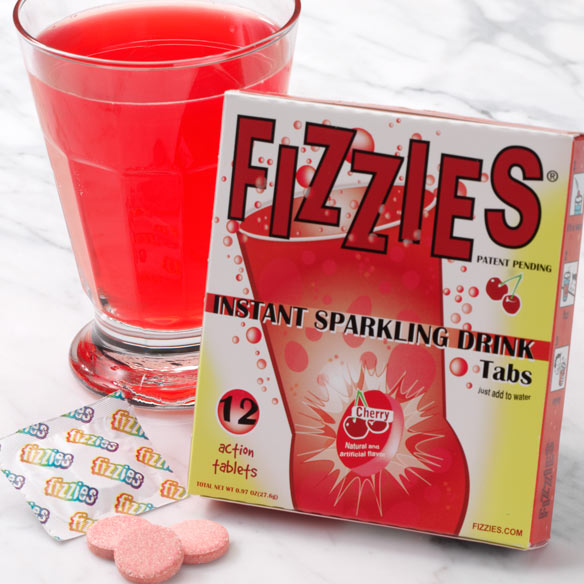 Cherry Fizzies® Drink Tablets - View 2