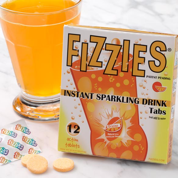 Orange Fizzies® Drink Tablets - View 2