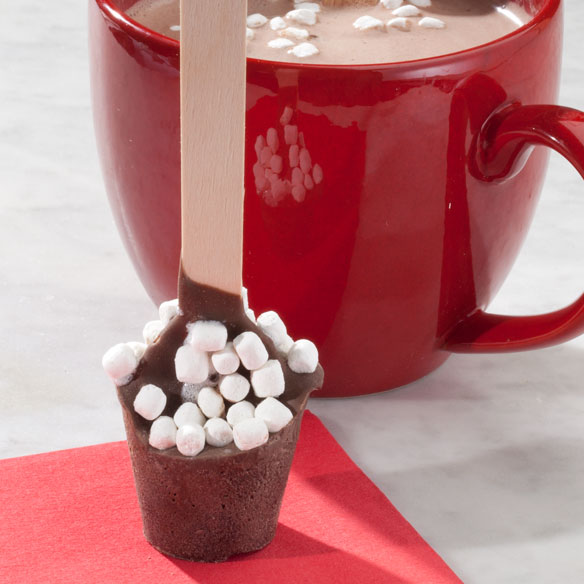 Marshmallow Hot Chocolate On A Spoon - View 2