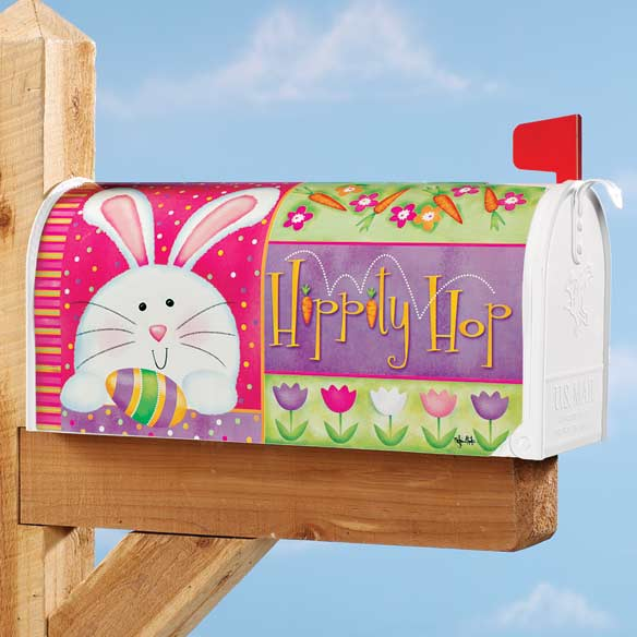 Hippity Hop Flag and Mailbox Cover