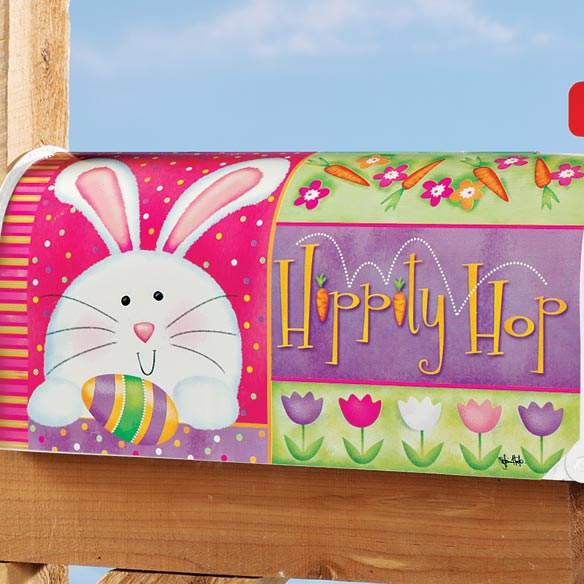 Hippity Hop Mailbox Cover - View 2