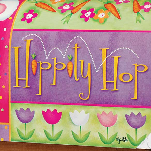 Hippity Hop Mailbox Cover - View 4