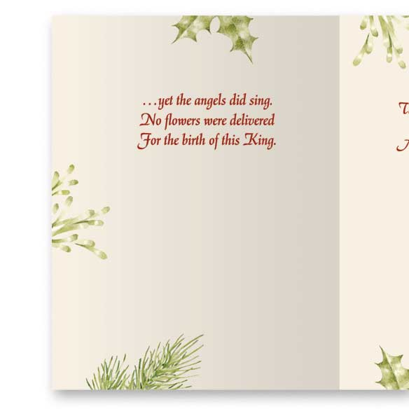 Christmas Certificate Non-Personalized Card Set of 20