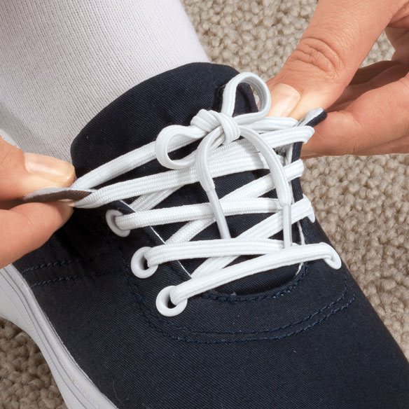 Elastic Shoe Laces - 3 Pair - View 2