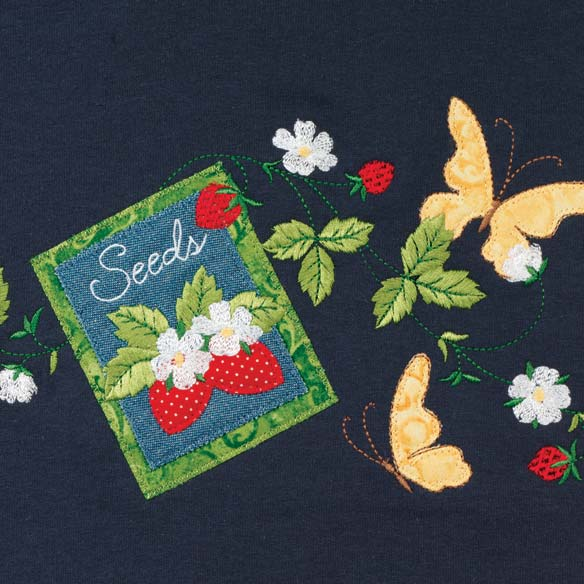 Strawberry Seeds Shirt - View 2