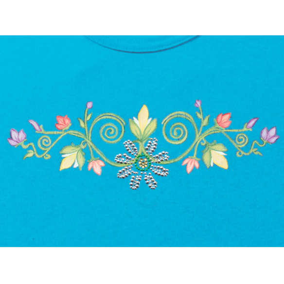 Floral Swirls T-Shirt - S-XL - View 2