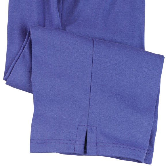 Purple Capris - View 3