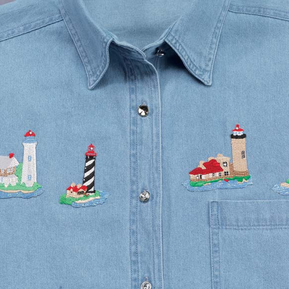 Lighthouse Denim Coordinating Set