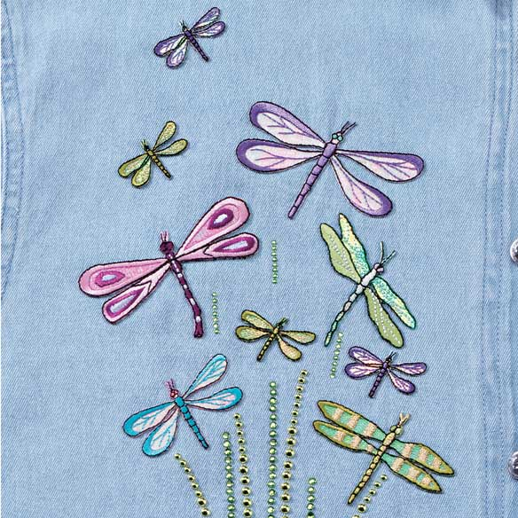 Dragonfly Denim Coordinating Set - View 2
