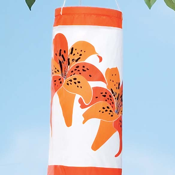 Tiger Lily Windsock - View 2