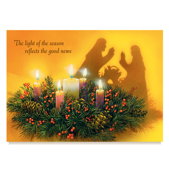Reflections Of Christmas Card Set Of 20 Religious