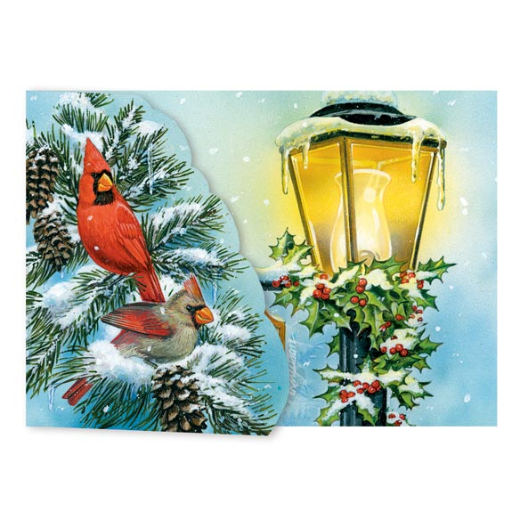 Cardinal Signpost Card Set of 20 - View 2