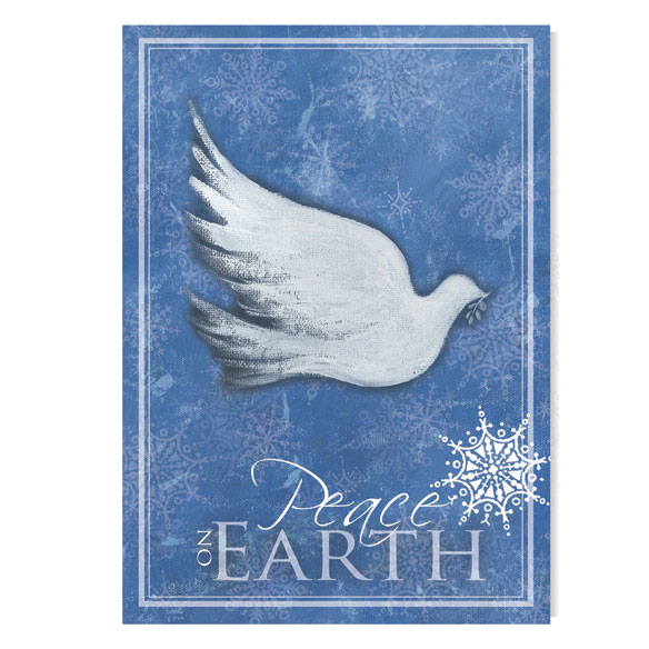 Peace on Earth Christmas Card, Set of 20 - View 2