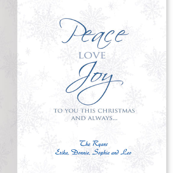 Peace on Earth Christmas Card, Set of 20 - View 3