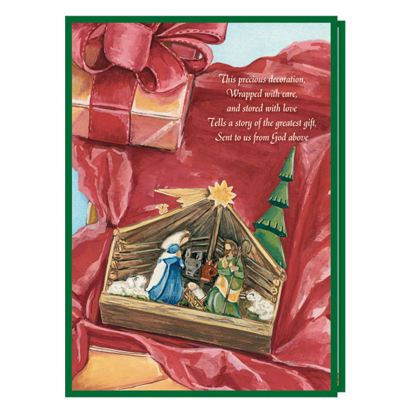 Cherished Decoration Card Set of 20