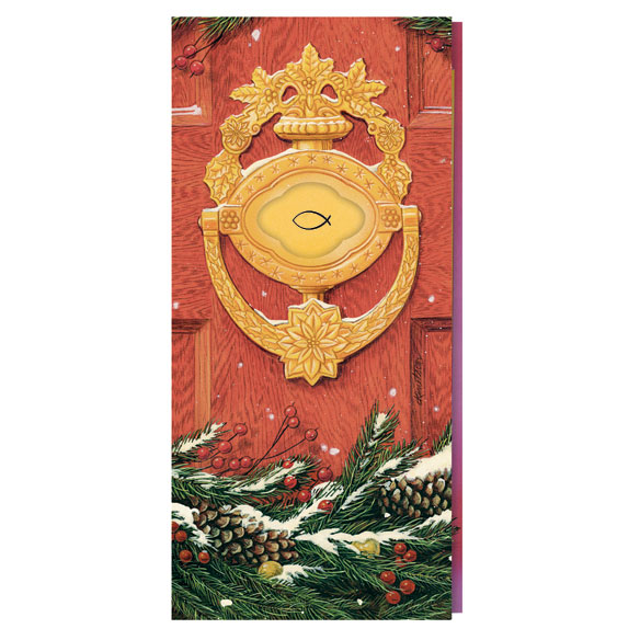 Door Knocker with Symbol Card Set of 20