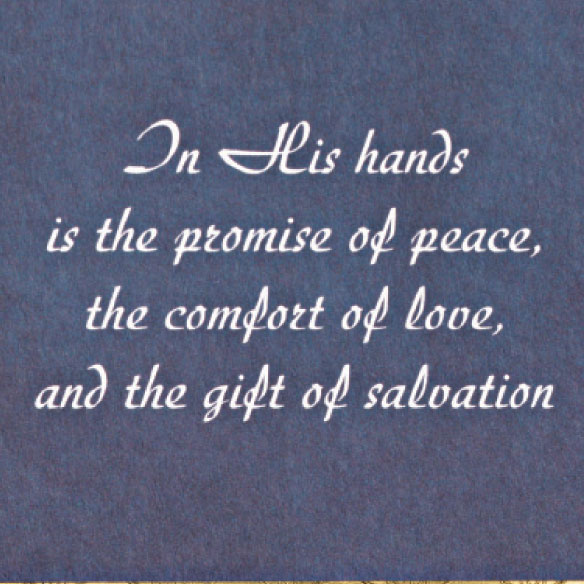 Safe In God's Hands Card Set of 20 - View 4