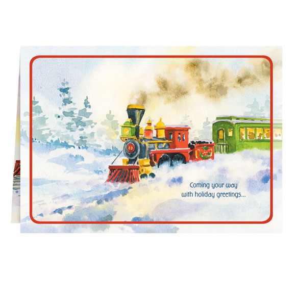 Old Time Train Station Card Set of 20 - View 2