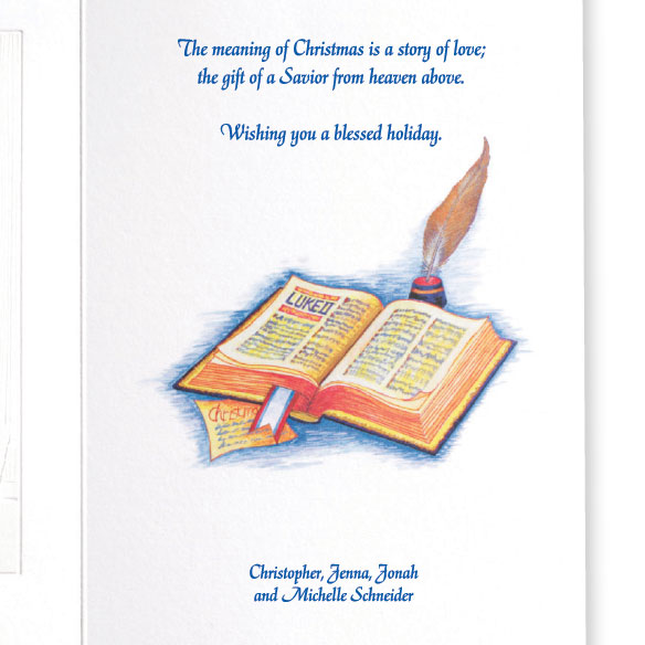 The Meaning Of Christmas Card Set - View 3