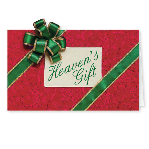 Heaven's Gift Christmas Card Set of 20 - View 2