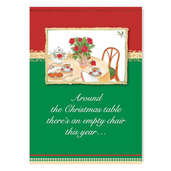 Memorial Greeting Christmas Card Set of 20 - View 2