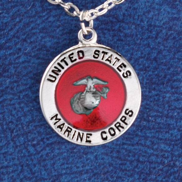 Military Service Necklace - View 3