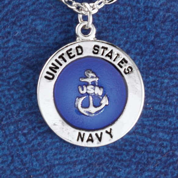 Military Service Necklace - View 5