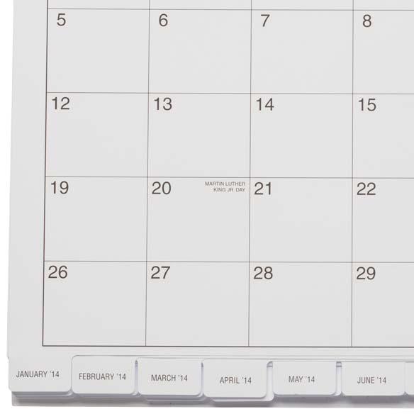 3 Year Calendar Diary 2014-2016 - View 3