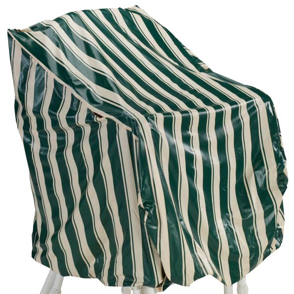 Deluxe High Back Chair Cover - View 2