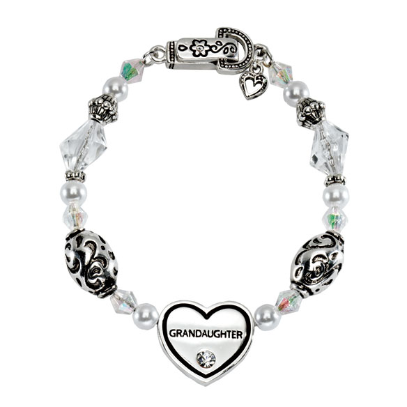 Family Heart Bracelets - View 2
