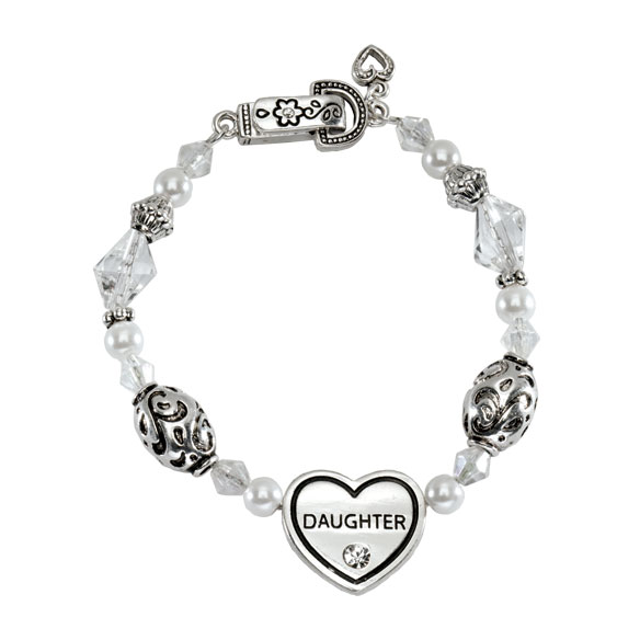 Family Heart Bracelets - View 4