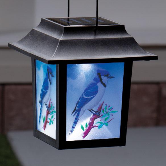 Blue Jay Solar Lantern Stake - View 2
