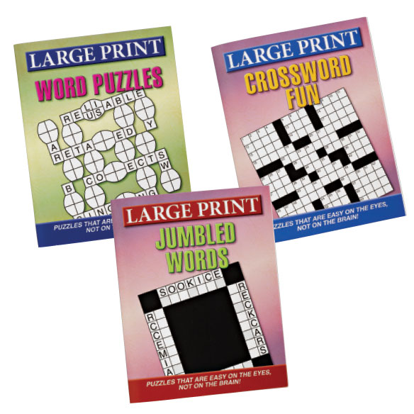 Large Print Puzzles 10 Pack - View 2