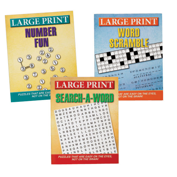 Large Print Puzzles 10 Pack - View 3