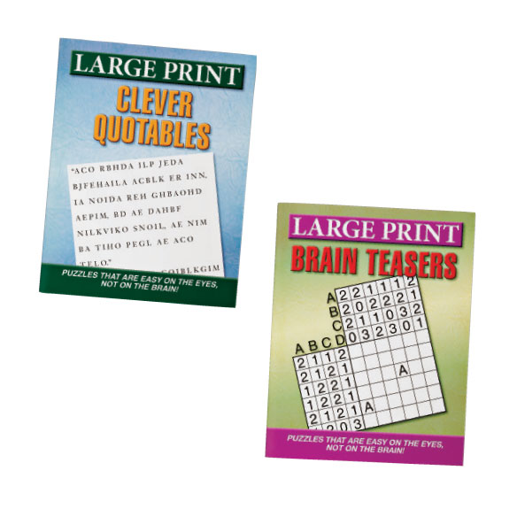 Large Print Puzzles 10 Pack - View 4