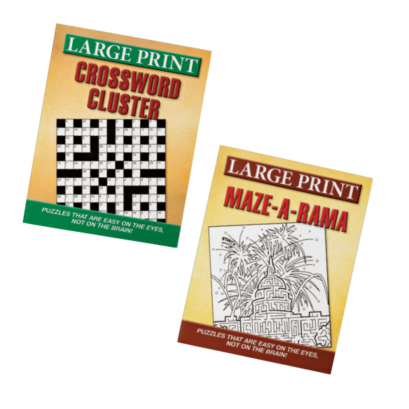 Large Print Puzzles 10 Pack - View 5